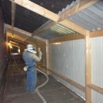 bestaande stal  luchtkanaal isoleren isopur isolatie600