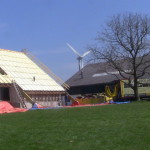 buitenzijde dak sprayen met pur isopur600
