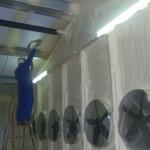 drukkamer luchtdicht maken isopur isolatie1200