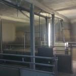 afdeling varkensstal geisoleerd isopur600