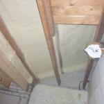 binnenzijde dak geisoleer iso'pur1200