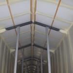 koudebruggen, naden geisoleerd iso'pur1200